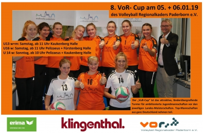 VoR-Cup 2019: Top-Jugendturnier in Paderborn